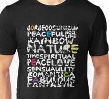 all abut words  Unisex T-Shirt