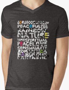 all abut words  Mens V-Neck T-Shirt