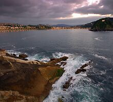 The shores of San Seb by Dean Symons