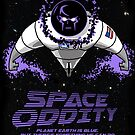 Space Oddity poster by monsterfink
