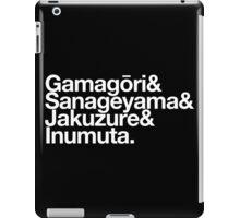 Elite Four (Classic) - Kill la Kill goes Helvetica iPad Case/Skin