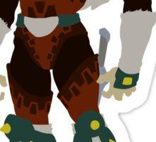 The Legend of Zelda | Minimalist Ganondorf Sticker