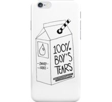 Boy's Tears  iPhone Case/Skin