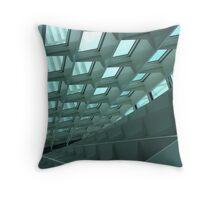 Geometric Architect Throw Pillow