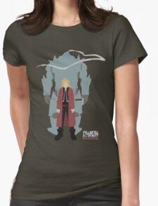 Fullmetal Alchemist Brotherhood   Minimalist Elric Brothers Womens Fitted T-Shirt