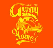 Quote - Take me away from Home Womens Fitted T-Shirt