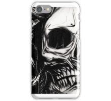 Skull - drawing version iPhone Case/Skin