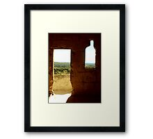 The view from Les Baux de Provence Framed Print