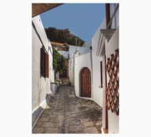 Residental Street in Lindos Kids Clothes