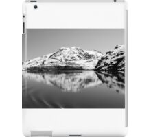 Alaska Reflections Black & White iPad Case/Skin