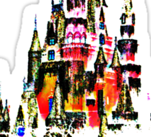 Cinderella Castle II Sticker