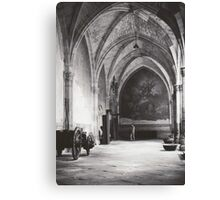 Inside the Cathedral of Saint Mary of Toledo, Spain Canvas Print