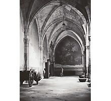 Inside the Cathedral of Saint Mary of Toledo, Spain Photographic Print