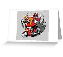 DR ROBOTFINK Greeting Card