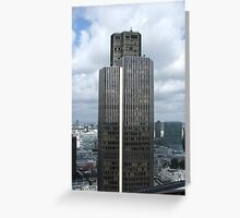 """Tower 42 """"The old Nat west Building""""  Greeting Card"""