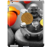 Buddha with coins iPad Case/Skin