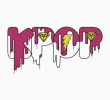 KPOP Drip Pink2 Kids Tee