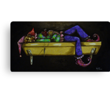 Expiration of a Fool Canvas Print