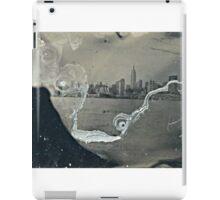 "NYC Skyline with ESB ""tintype"" photograph iPad Case/Skin"