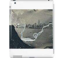 "NYC Skyline with ESB ""tintype"" photograph iPad Case/Skin"