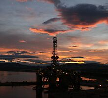 Transocean John Shaw in Invergordon. by Alex Young