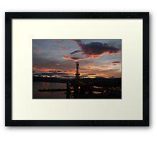 Transocean John Shaw in Invergordon. Framed Print