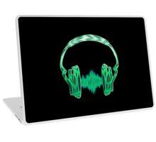 Headphone, Music, Disco, Dance, Electro, Trance, Techno, Wave, Pulse,  Laptop Skin