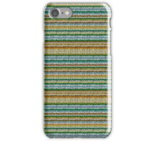 Knitted Pattern Set 4 - Orange/Yellow/Green/Blue iPhone Case/Skin