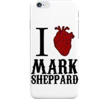 Anatomical Love - Mark Sheppard iPhone Case/Skin