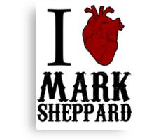 Anatomical Love - Mark Sheppard Canvas Print