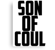 Agent Son of Coul Canvas Print