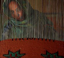 weaving dreams.  Sahara refugee woman. by lauralizancos