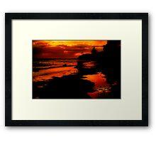"""""""Sunrise at the Spring"""" Framed Print"""