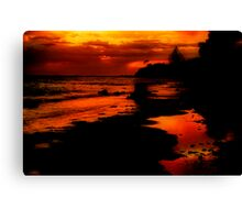 """""""Sunrise at the Spring"""" Canvas Print"""