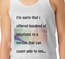 Emotions.. Tank Top
