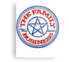 The Family Business Metal Print