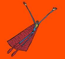 Paul Friedrich- Superman Flying Kids Tee