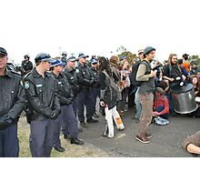 Climate Change Protest, Newcastle Photographic Print