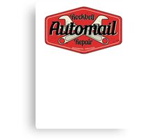Rockbell Automail Repair Canvas Print