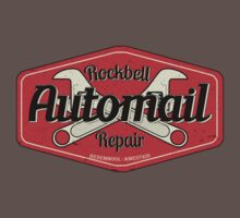 Rockbell Automail Repair Kids Clothes