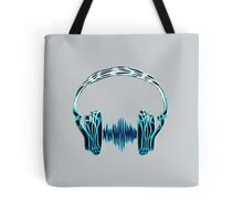 Headphone, Music, Disco, Dance, Electro, Trance, Techno, Wave, Pulse,  Tote Bag