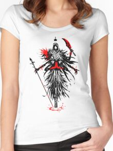 The Queen of Spades Women's Fitted Scoop T-Shirt