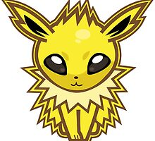 Jolteon by Skull And Cubone Society
