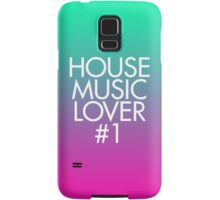 House Music Lover #1 Samsung Galaxy Case/Skin