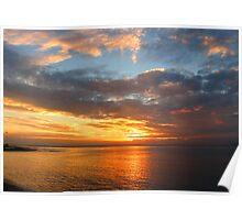 Tenerife Sunset Poster