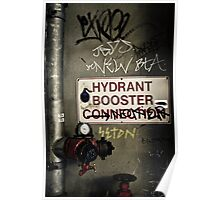 Hydrant Booster Poster