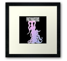 PARTYNAUSEOUS Framed Print