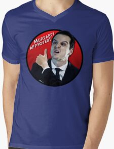 Moriarty Approved! Mens V-Neck T-Shirt
