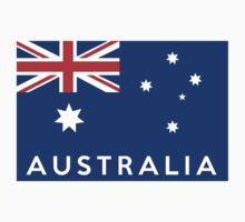 flag of australia One Piece - Short Sleeve