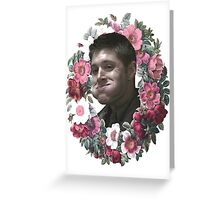 Dean Wreath2 Greeting Card